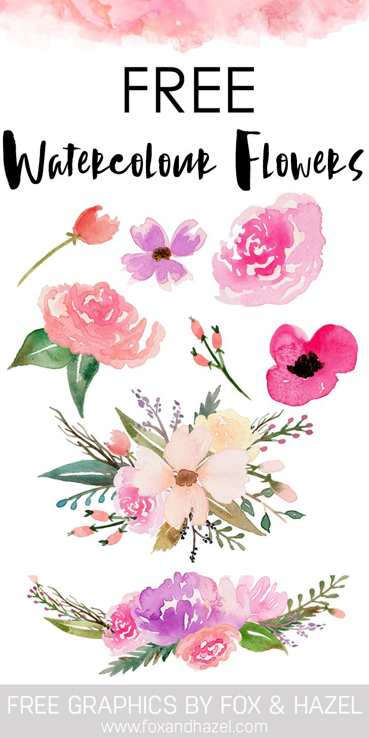 Flower Printable Clipart Collection - Free Printable Clip Art Flowers