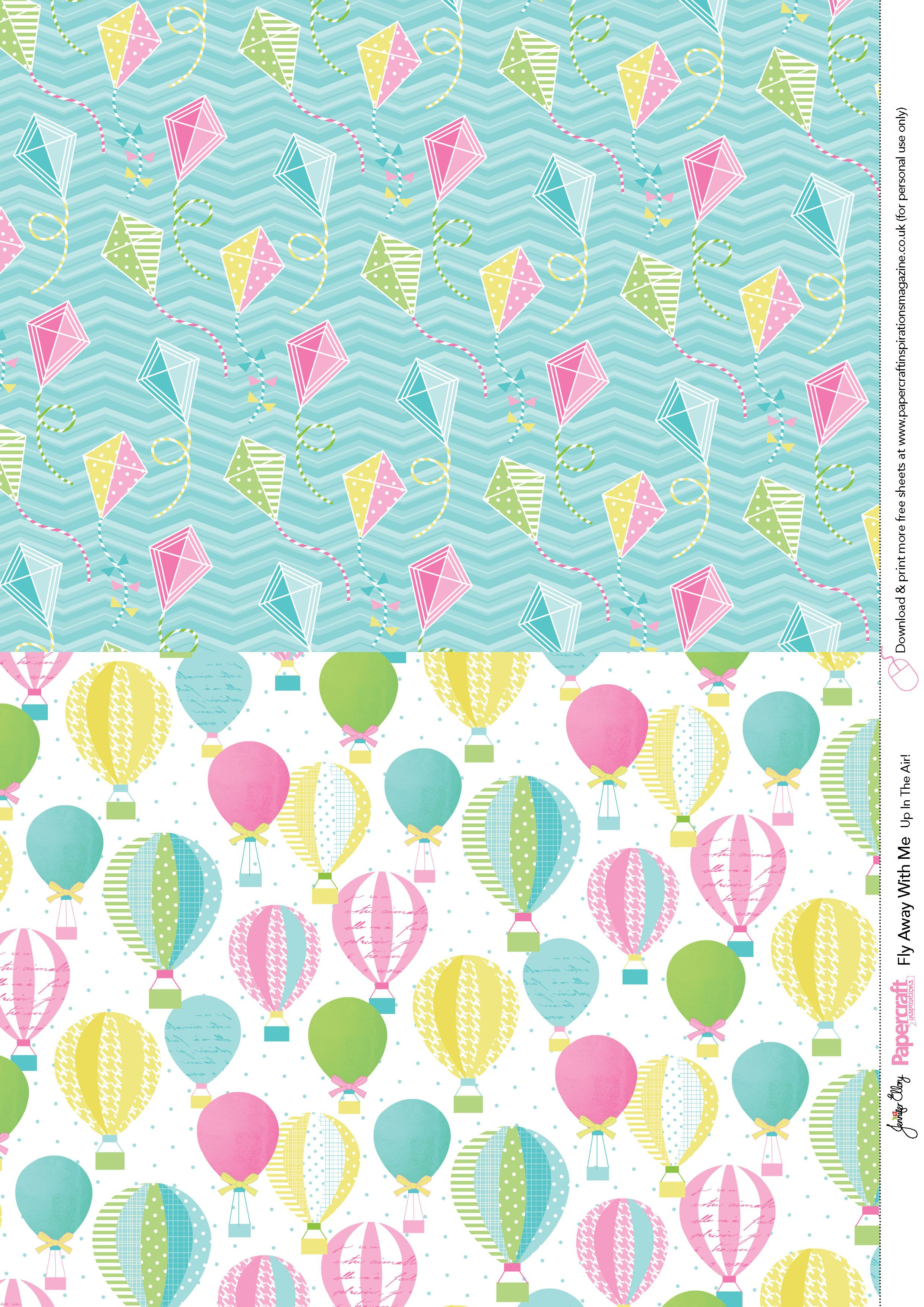 Fly Away With Me Free Printables From Papercraft Inspirations 138 - Free Card Creator Printable