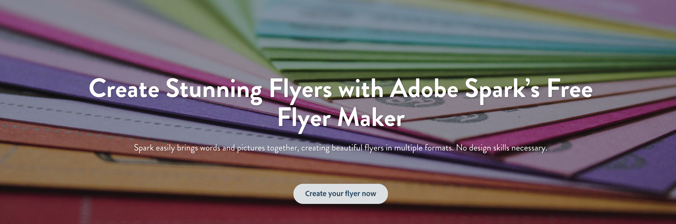 Flyer Maker: Create Beautiful Flyers For Free | Adobe Spark - Create Your Own Free Printable Flyers