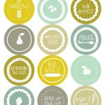 Fontaholic: Freebie Friday: Mason Jar Tops | Jars & Labels & Design   Free Printable Jar Label Templates