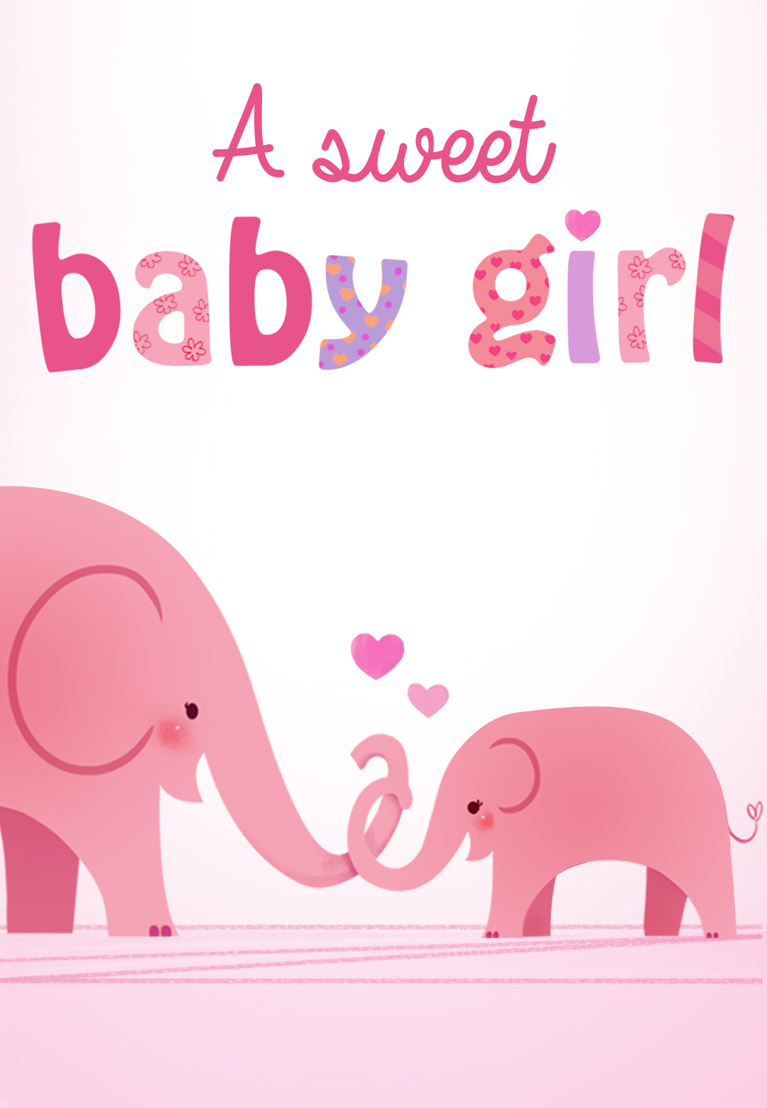 Forever In Your Heart - Free Baby Shower & New Baby Card | Greetings - Free Printable Baby Shower Card