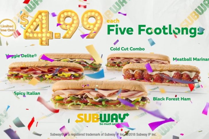 Free Printable Subway Coupons 2017