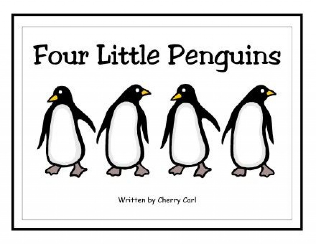 Four Little Penguins Free Printable Big Book | School - Penguins In - Free Printable Penguin Books