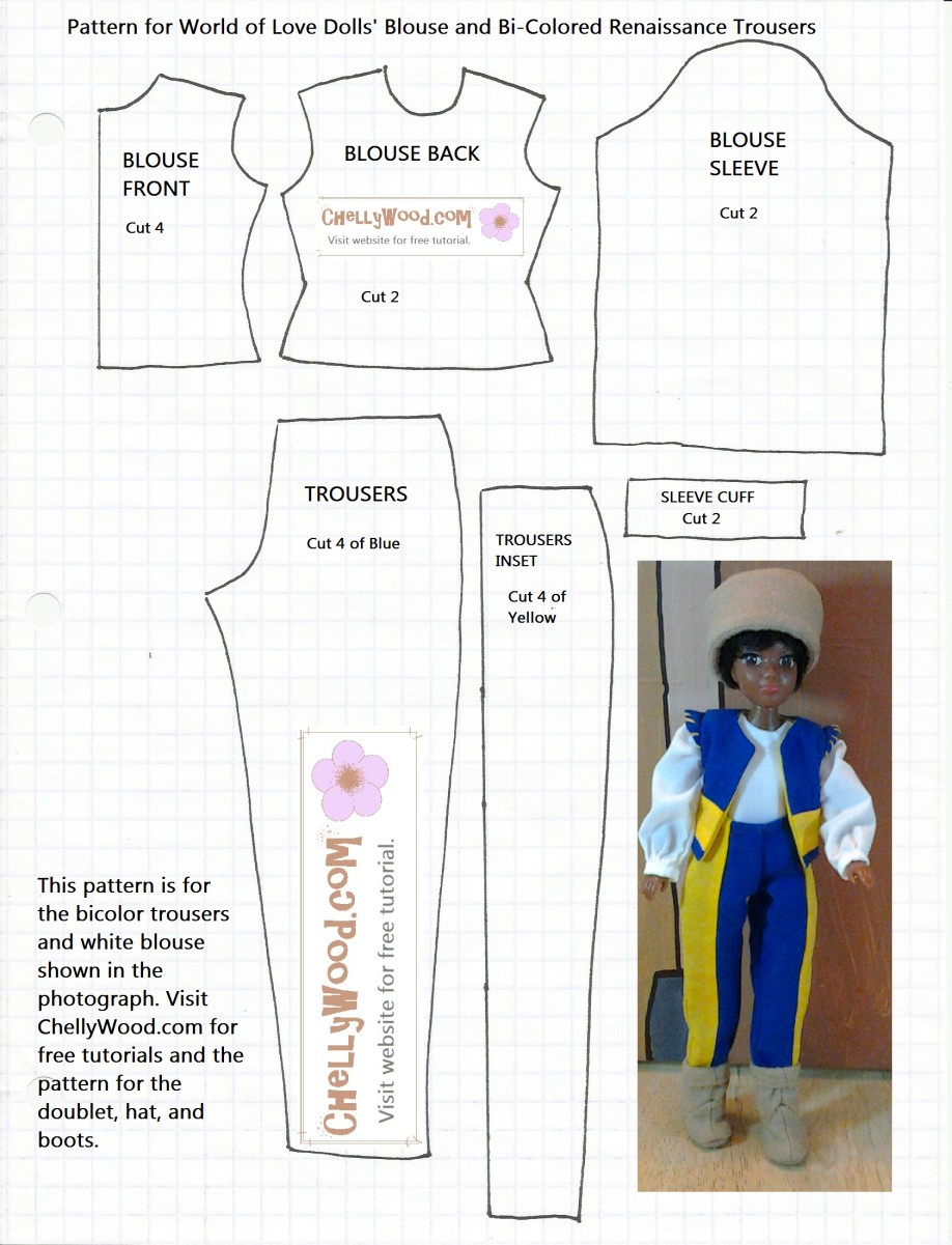 Free 18 Inch Doll Clothes Patterns Lovely Free Printable Sewing - 18 Inch Doll Clothes Patterns Free Printable