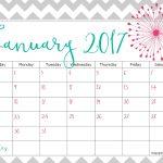 Free 2017 Calendar For You To Print   Keeping Life Sane   Free 2017 Printable
