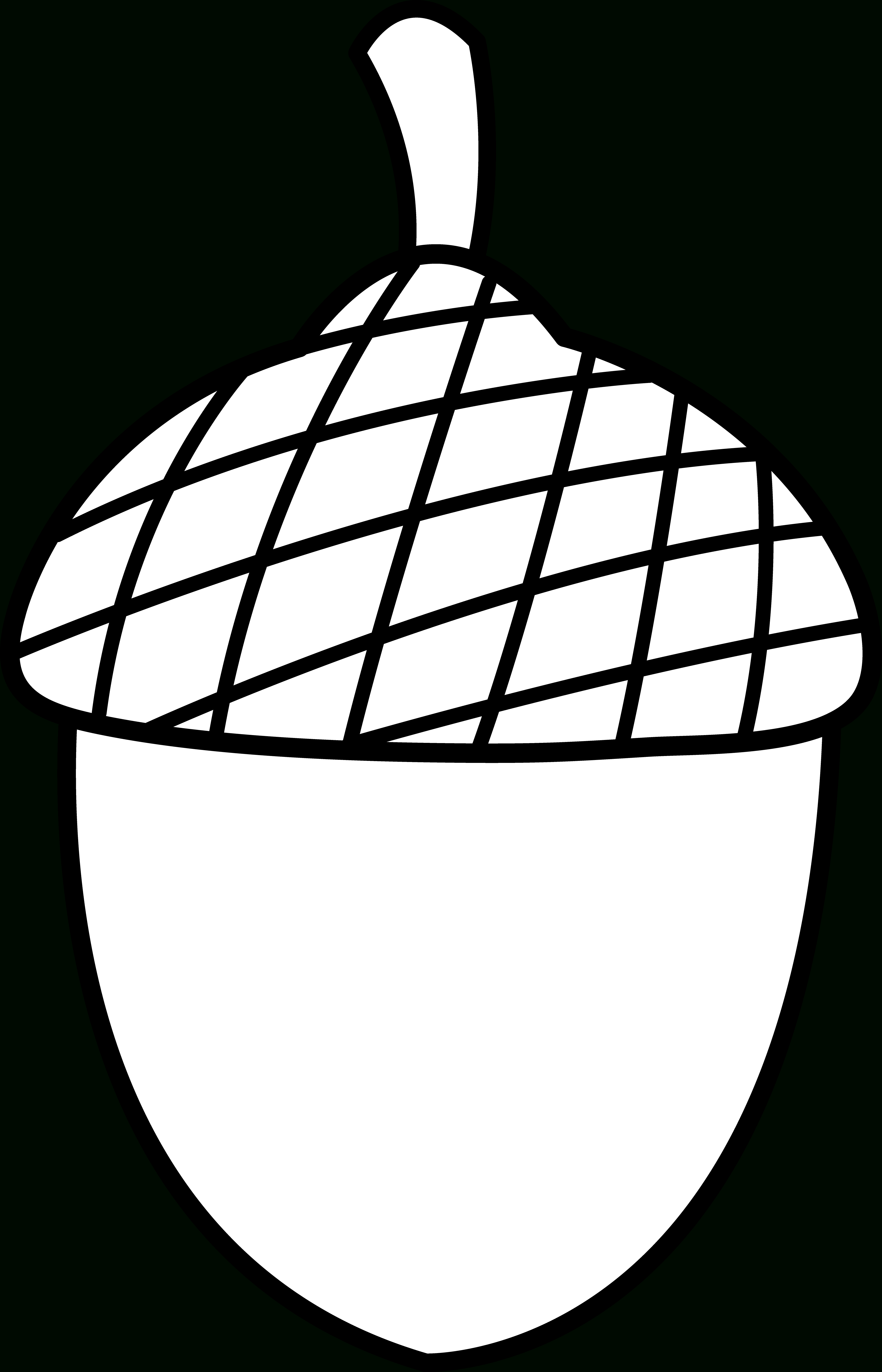 Free Acorn Pictures, Download Free Clip Art, Free Clip Art On - Acorn Template Free Printable
