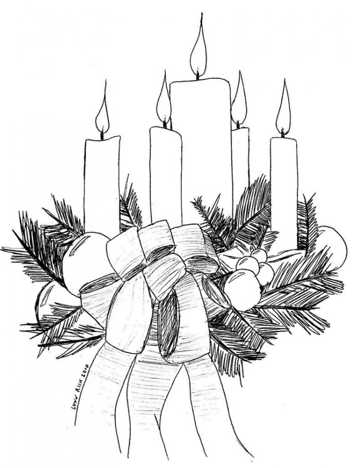 Free Printable Advent Wreath