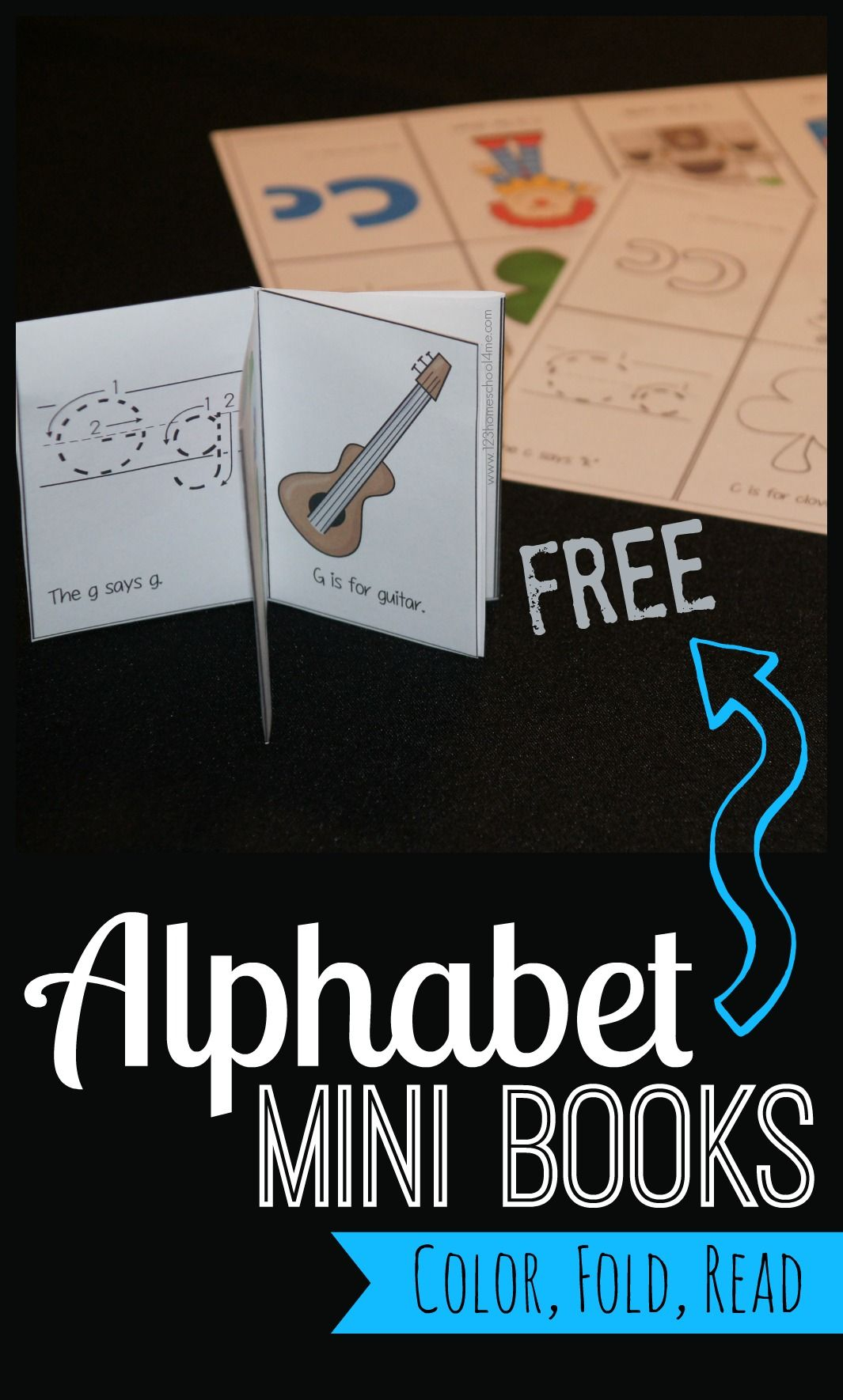 Free Alphabet Mini Books | Play Activities For Kids | Preschool - Free Printable Abc Mini Books
