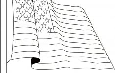 Free American Flag Coloring Pages – Free Printable American Flag Coloring Page