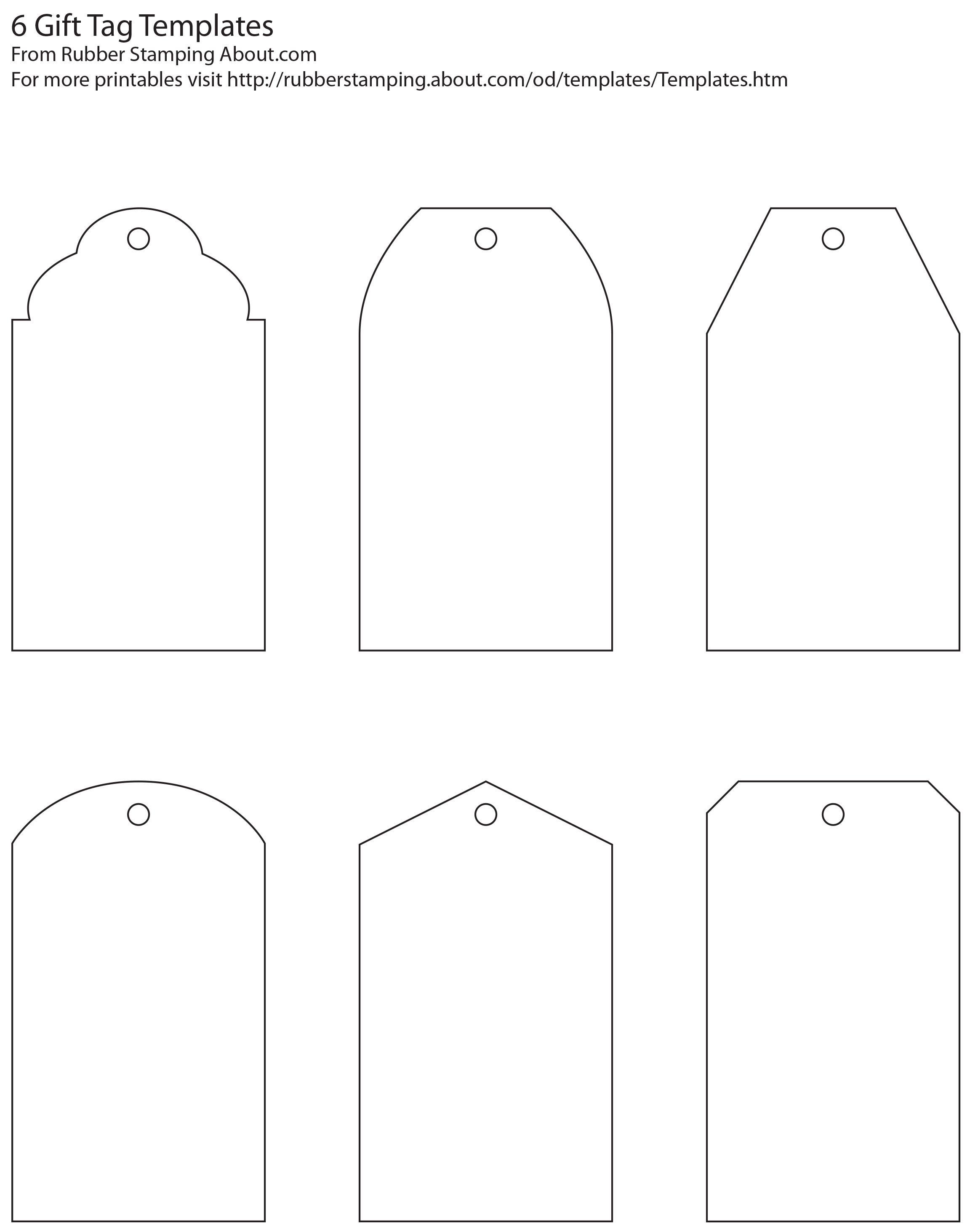 Free And Whimsical Printable Gift Tag Templates   Great Idea - Printable Gift Tags Customized Free