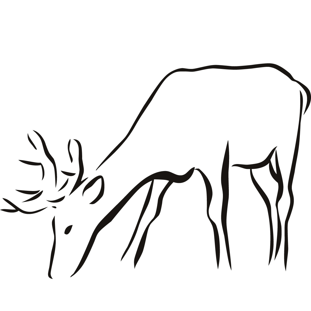 Free Animal Outlines, Download Free Clip Art, Free Clip Art On - Free Printable Arty Animal Outlines