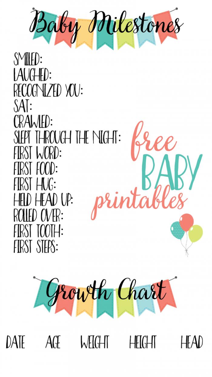Baby Scrapbook Templates Free Printable