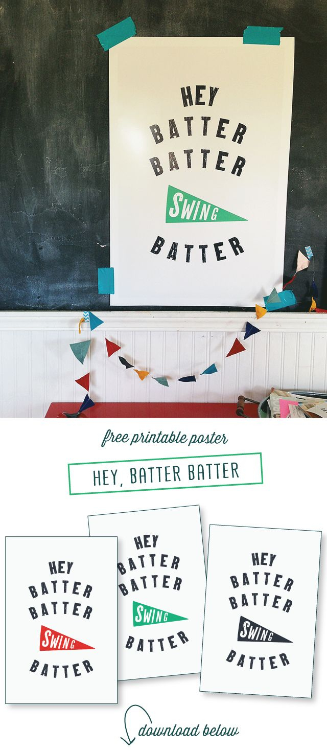 Free Baseball Posters Download And Printable | Designraeannkelly - Free Printable Sports Posters