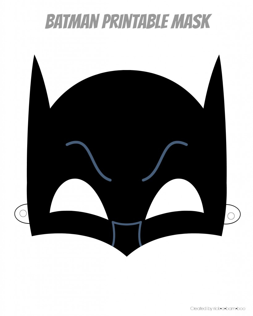 Free Batman Mask Template, Download Free Clip Art, Free Clip Art On - Superman Mask Printable Free