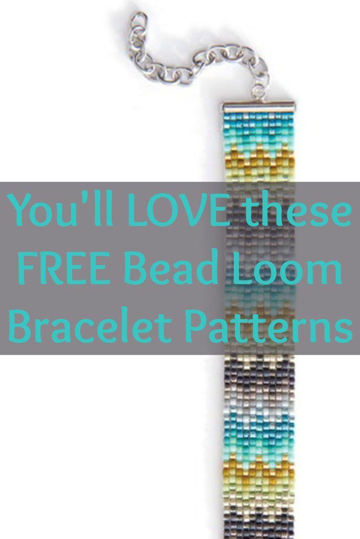 Free Beading Patterns You Have To Try | Beaded Bracelet Making - Free Printable Loom Bracelet Patterns