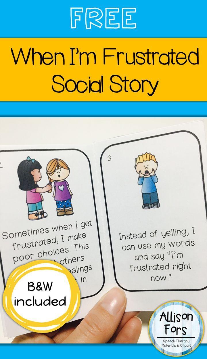 Free Behavior Social Story | Language Games Galore | Pinterest - Free Printable Social Stories