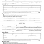Free Bill Of Sale Forms | Pdf & Word Templates | View Dmv Samples   Free Printable Blank Auto Bill Of Sale