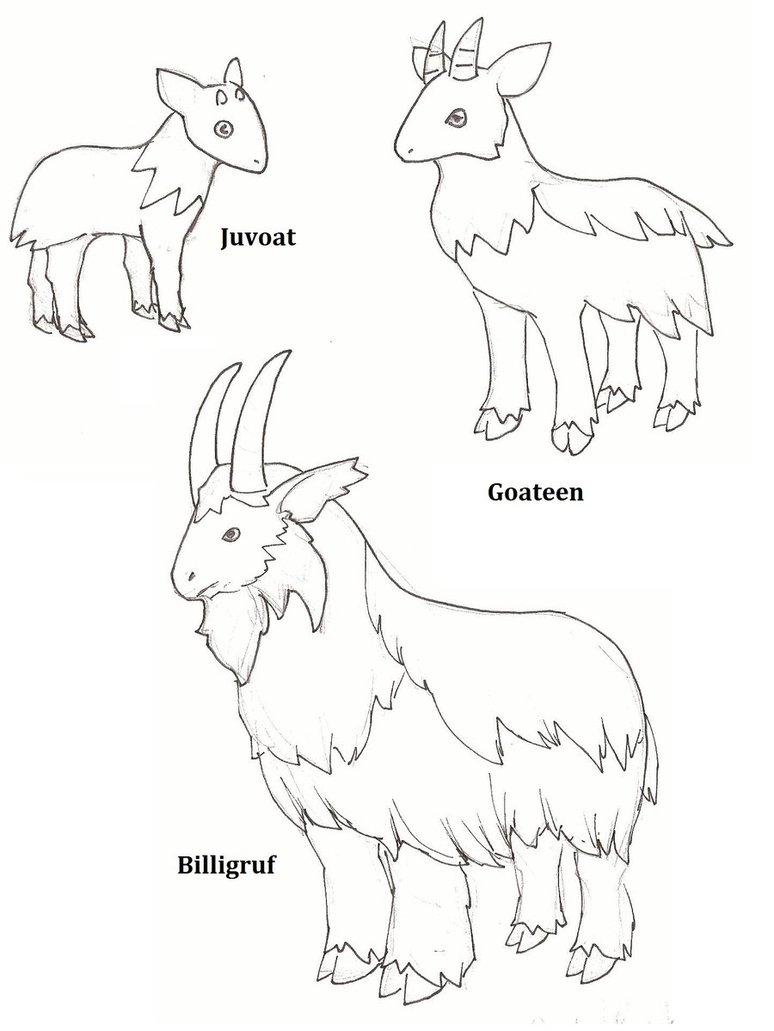 Free Billy Goats Gruff Colour, Download Free Clip Art, Free Clip Art - Three Billy Goats Gruff Masks Printable Free