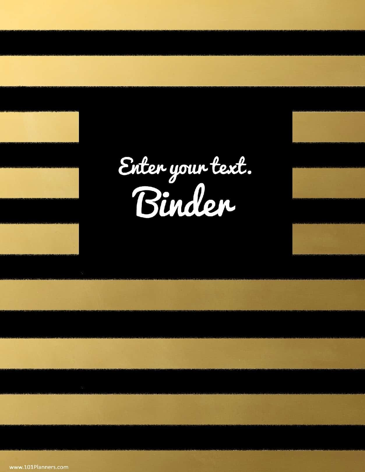 Free Binder Cover Templates | Customize Online & Print At Home | Free! - Free Editable Printable Binder Covers