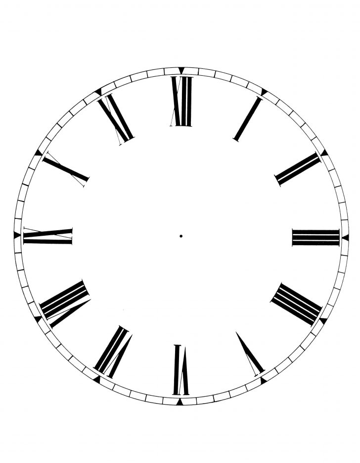 Free Printable Clock Faces