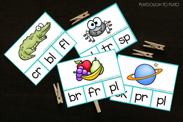 Free Printable Blending Cards