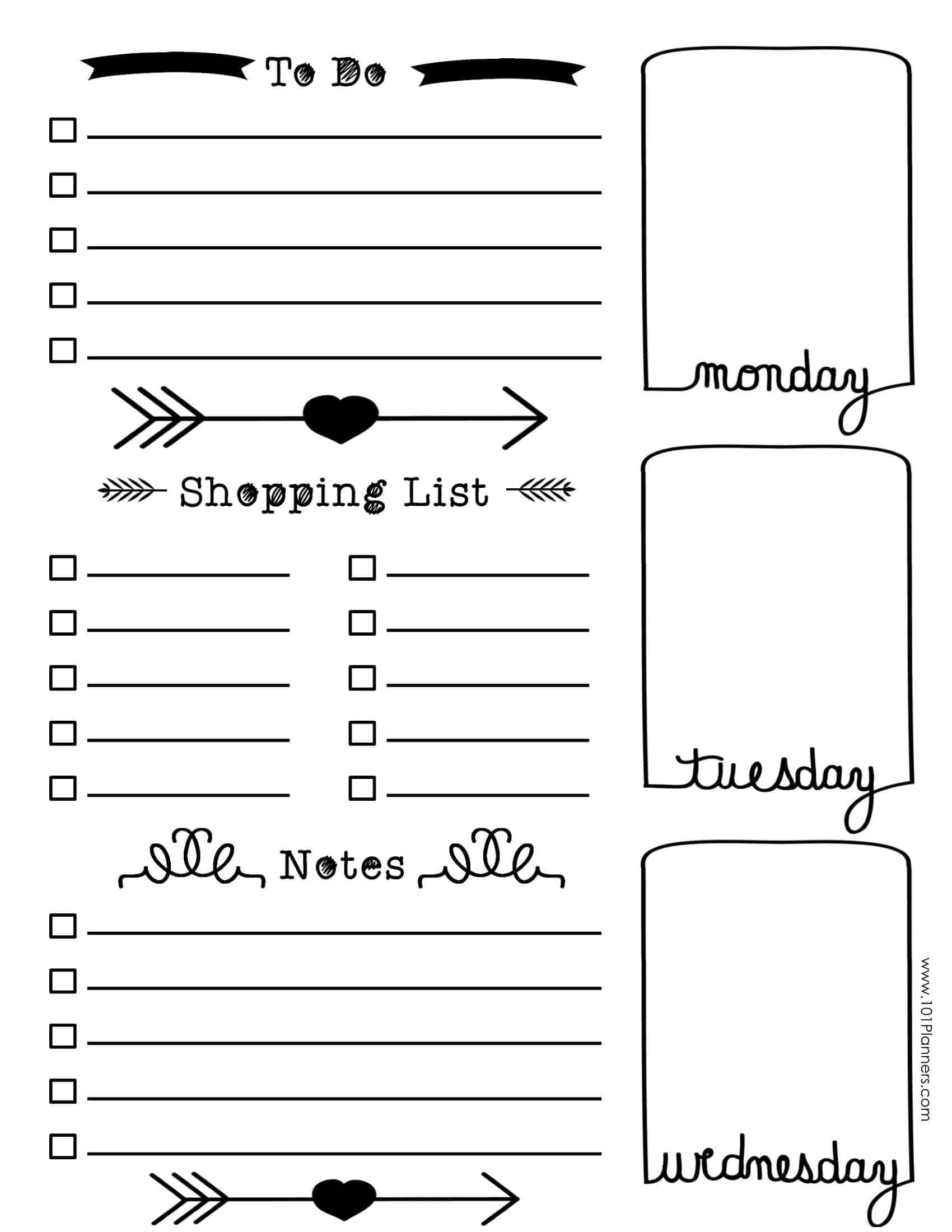 Free Bullet Journal Printables | Customize Online For Any Planner Size - Free Printable Bullet Journal Pages