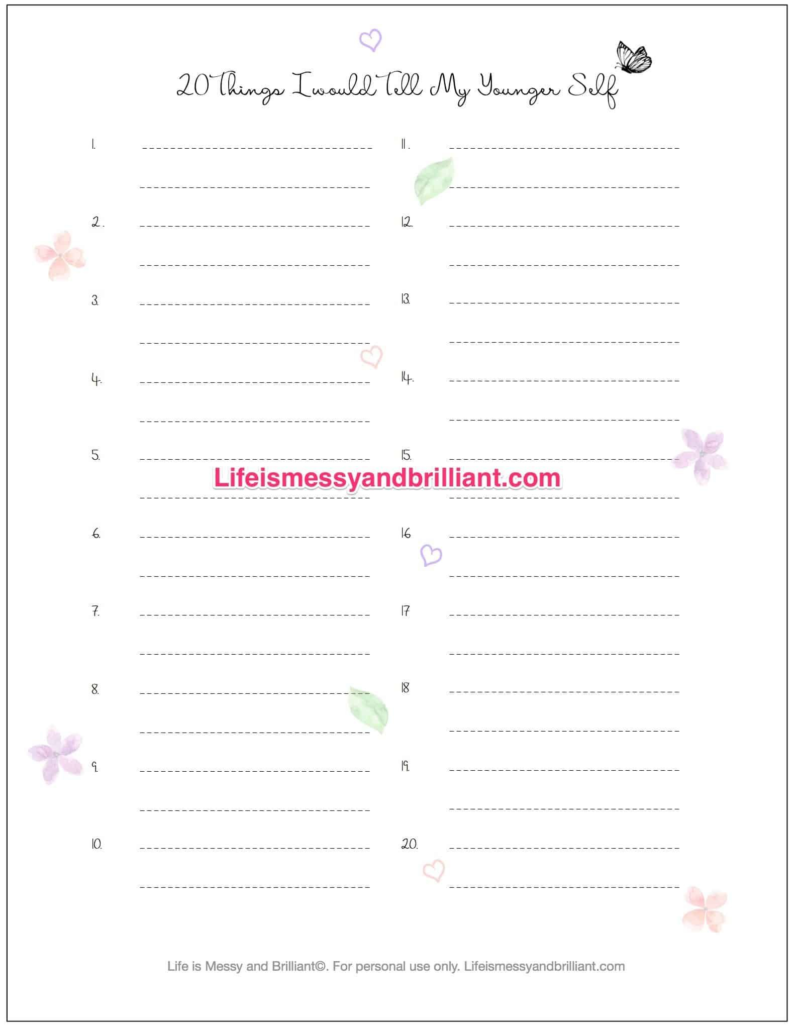 Free Bullet Journal Printables, Free Printable, Bullet Journal, Free - Free Printable Bullet Journal Pages