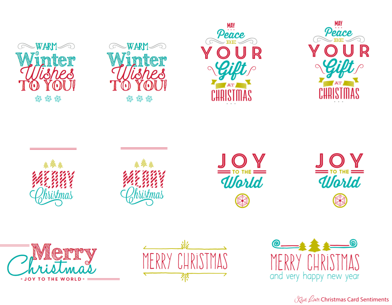 Free Christmas Card Printable   Free Printables   Pinterest - Free Printable Greeting Card Sentiments