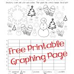 Free Christmas/winter Graphing Worksheet (Kindergarten, First Grade   Free Printable Graphs For Kindergarten