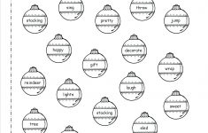 Free Christmas Worksheets Printables Ornaments Free Christmas - Free Printable Worksheets Uk