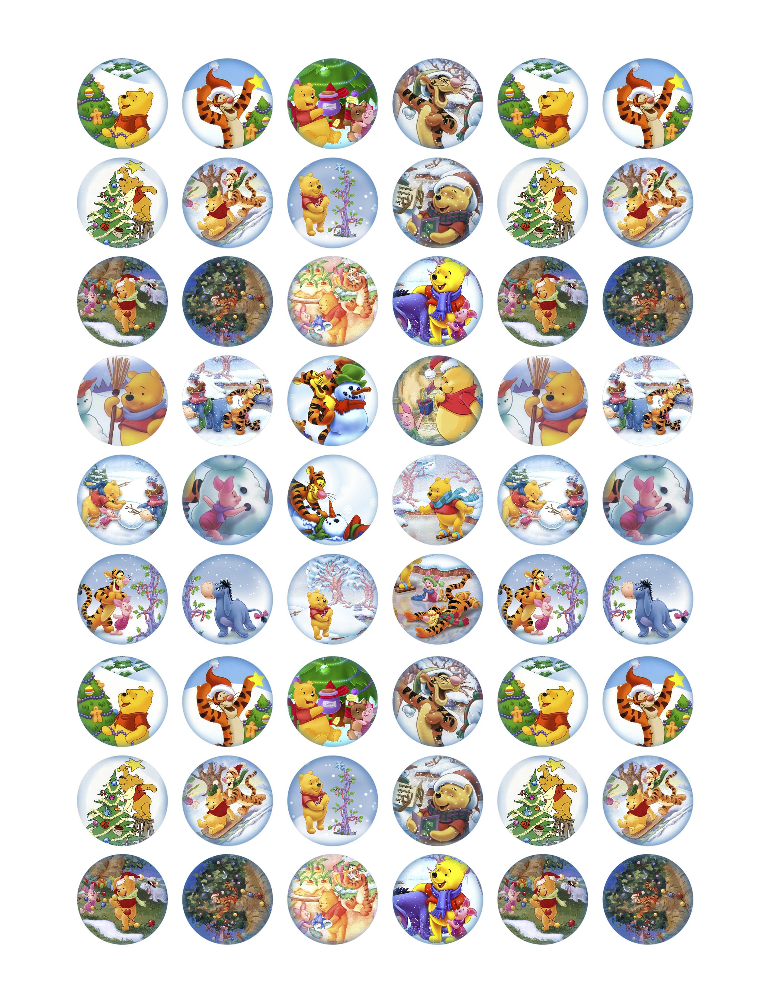 Free Collage Sheets   Bottlecap4U - Free Printable Cabochon Templates