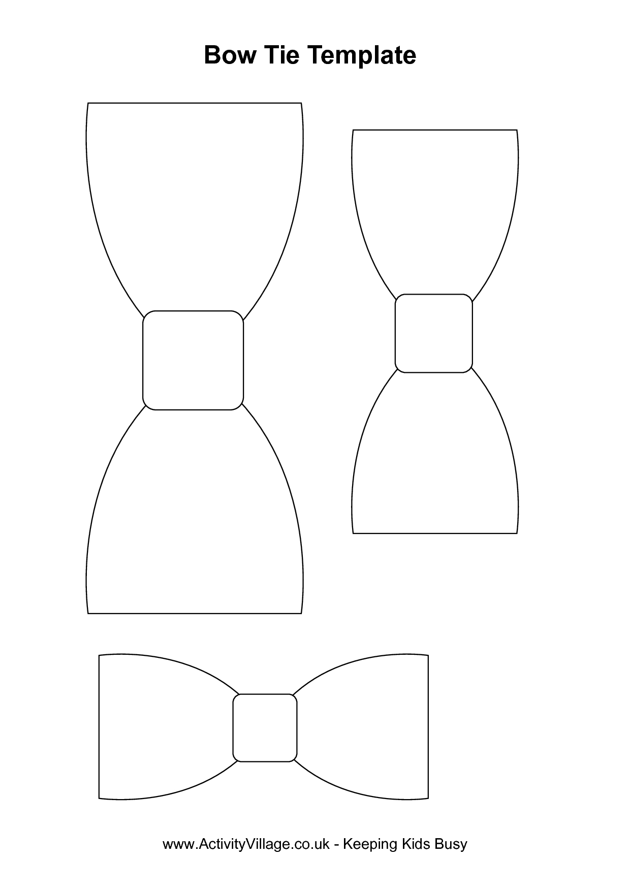 Free Coloring Pages | Mad Scientist Party In 2019 | Pinterest | Baby - Free Bow Tie Template Printable