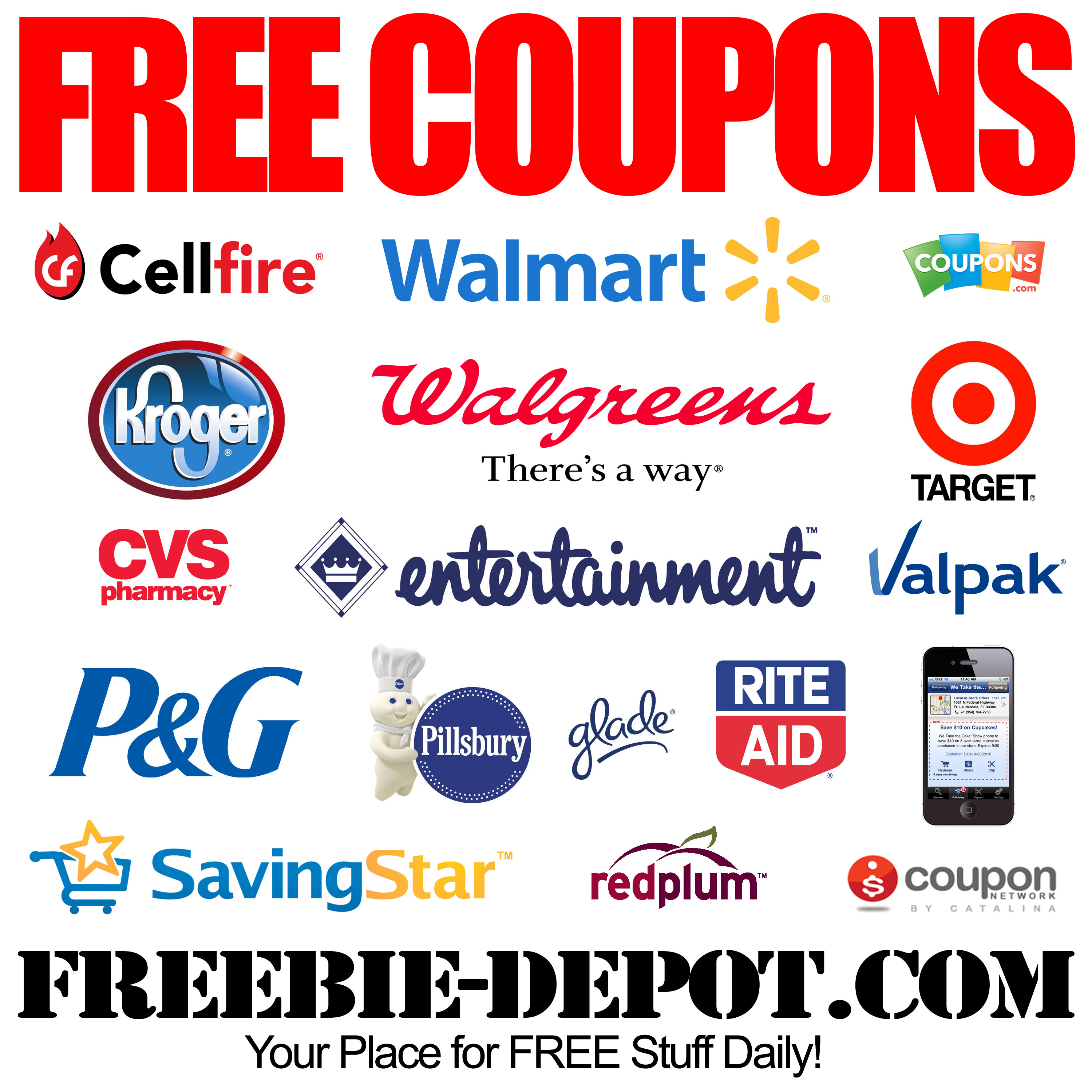 Free Coupon Codes – Best Quality Free Stuff - Free Printable Coupons 2014