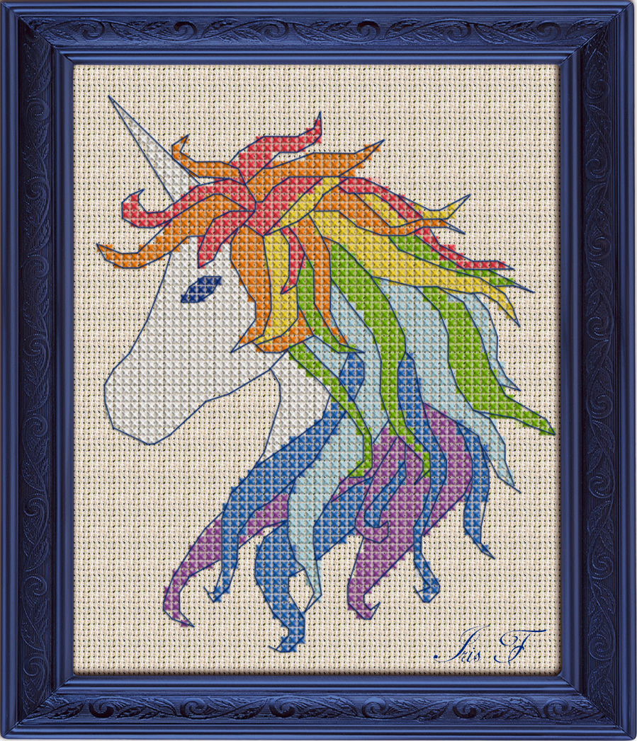 Free Cross Stitch Pattern Unicorn | Diy 100 Ideas - Cross Stitch Patterns Free Printable