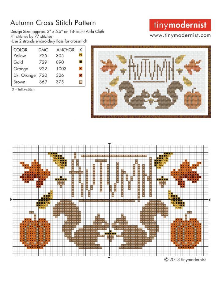 Free Printable Modern Cross Stitch Patterns