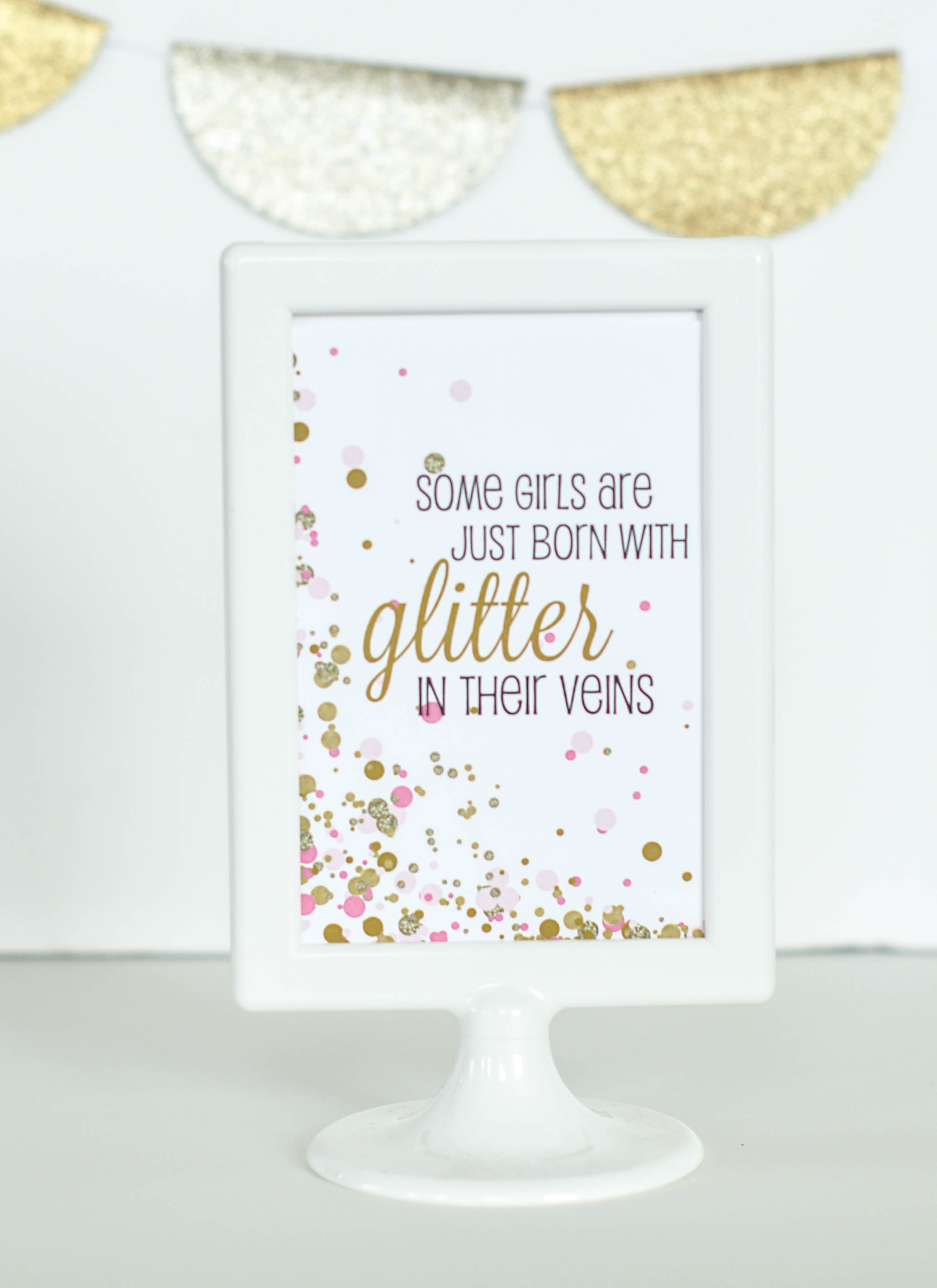 "Free ""cue The Confetti"" Baby Shower Printable Signs - - Free Printable Baby Shower Table Signs"