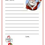 Free Dear Santa Letter Template Download | Posters For The Walls   Free Printable Dear Santa Stationary