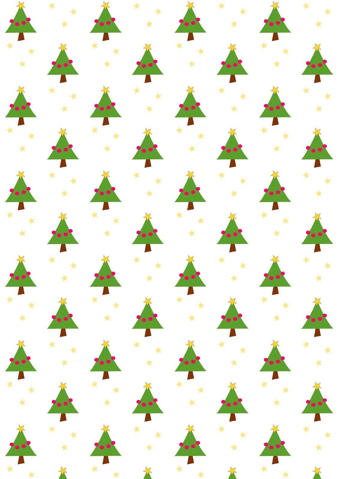 Free Digital Christmas Scrapbooking Paper - Ausdruckbares - Free Printable Christmas Paper