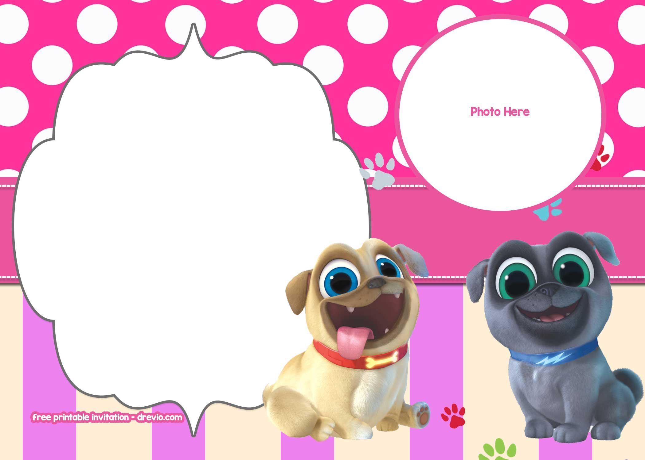 Free Disney Puppy Dog Pals Invitation | Free Printable Birthday - Free Printable Puppy Dog Birthday Invitations