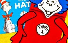 Free Dr. Seuss Printables & Fonts! - Free Printable Dr Seuss Hat Template