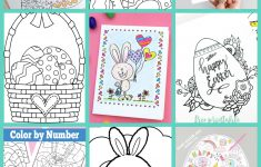 Free Easter Coloring Pages - Happiness Is Homemade - Free Printable Easter Stuff