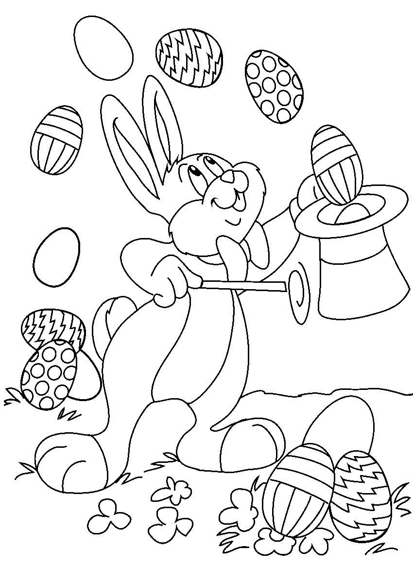 Free Easter Colouring Pages For Kids   Coloring Pages   Easter - Free Printable Easter Colouring Sheets