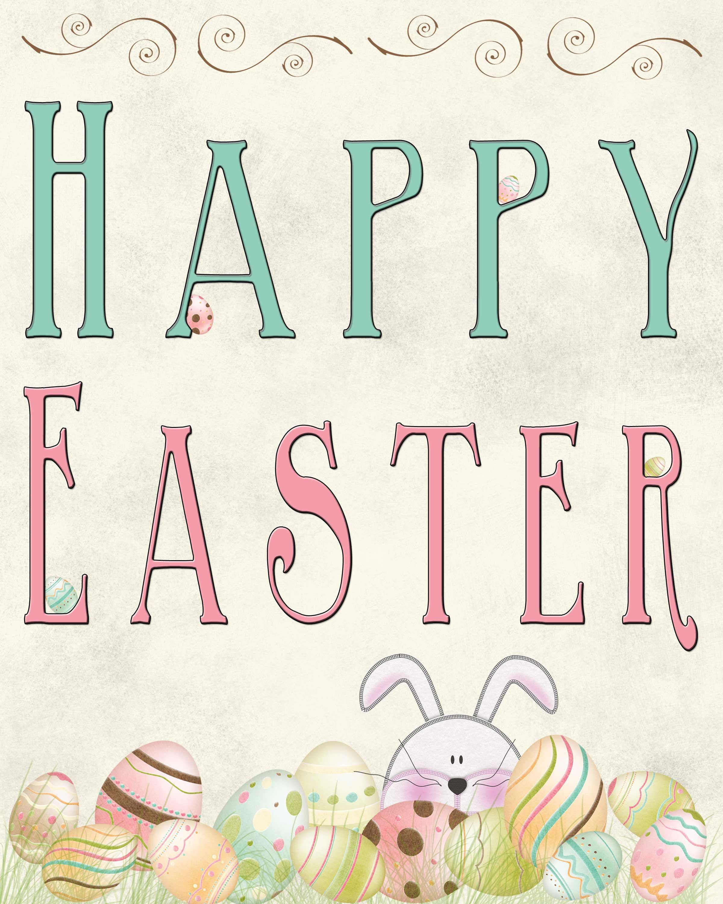 Free Easter Printable | ~Easter ~ | Pinterest | Easter Printables - Printable Easter Greeting Cards Free
