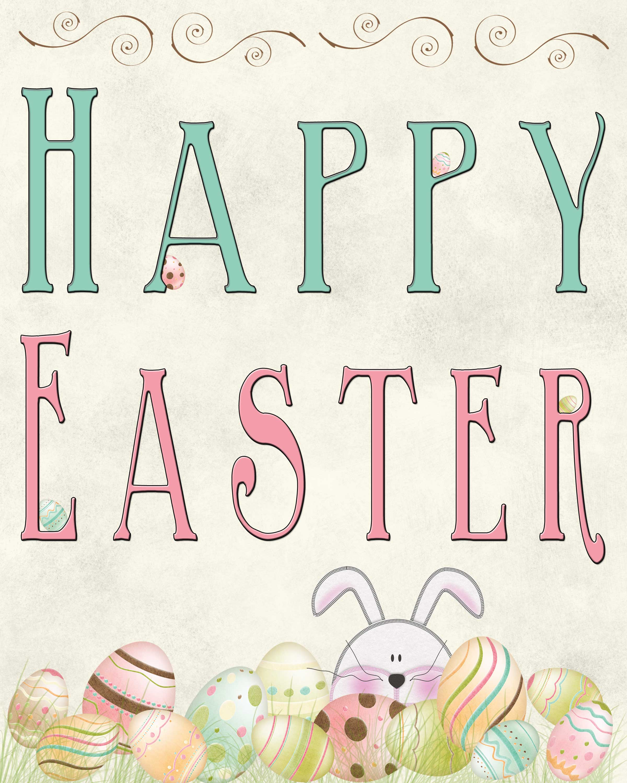 Free Easter Printable - Free Printable Easter Cards For Grandchildren