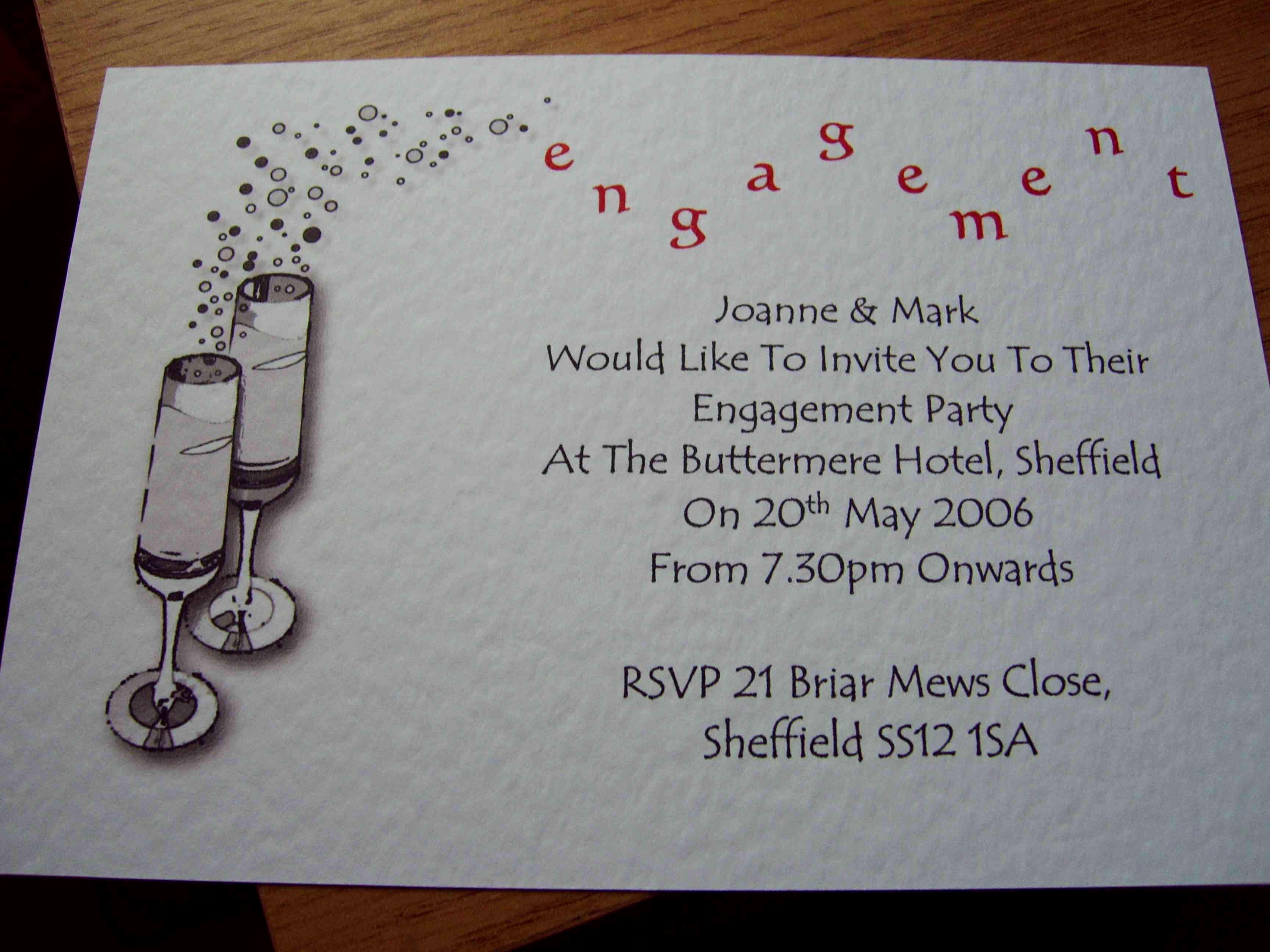 Free Engagement Party Invitation Templates Printable Fresh  Image - Free Printable Engagement Party Invitations