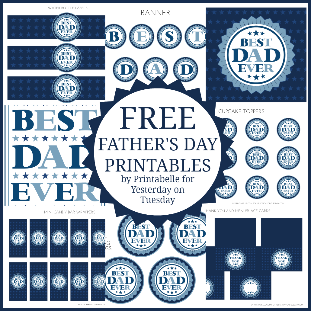 Free Father's Day Printables - Free Printable Fathers Day Banners