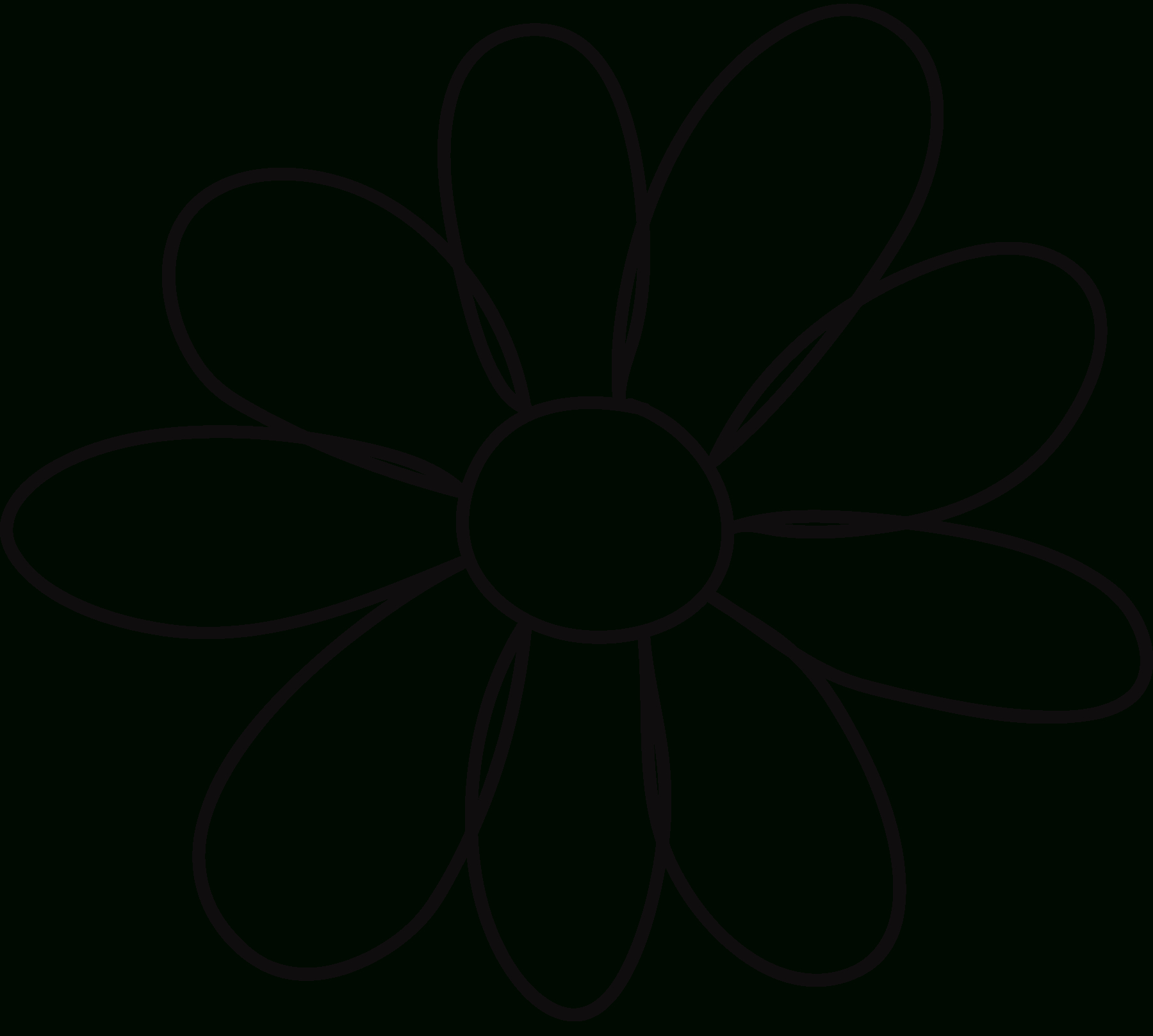 Free Free Flower Templates Printable, Download Free Clip Art, Free - Free Printable Flower Template