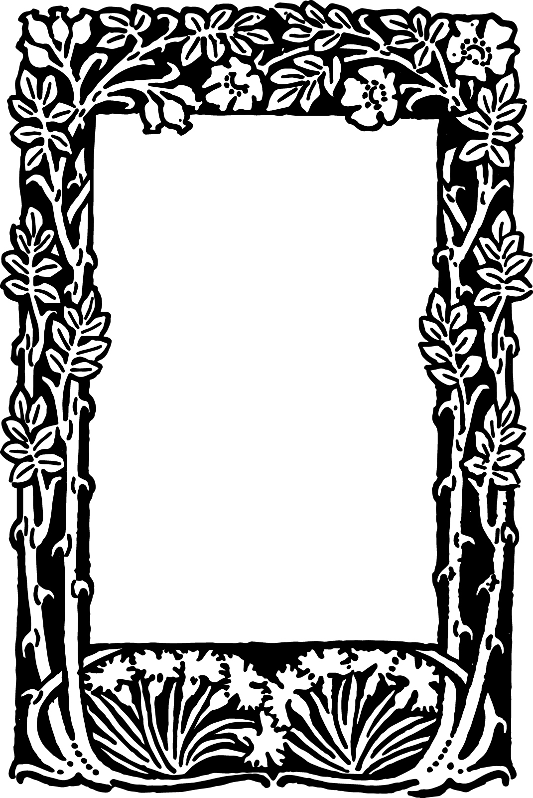 Free Free Printable Floral Borders And Frames, Download Free Clip - Free Printable Borders And Frames