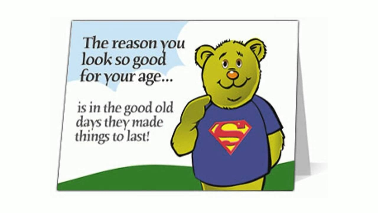 Free Funny Birthday Ecards For Son – Youtube With Regard To Free - Free Printable Humorous Birthday Cards