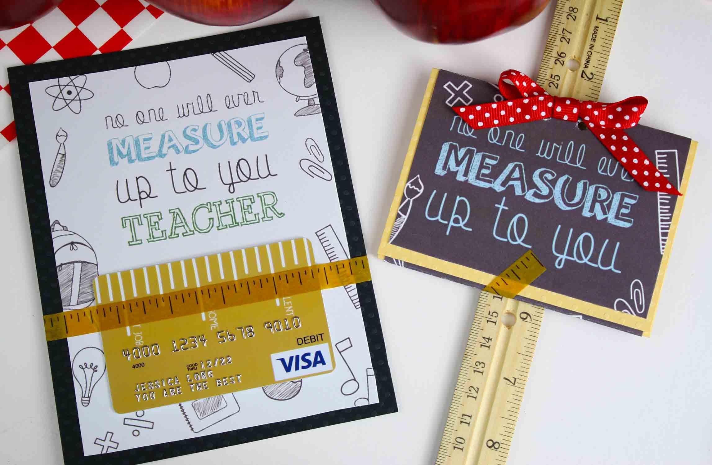 Free Gift Card Holder - Teacher Appreciation Gift Card | Giftcards - Free Printable Teacher Appreciation Greeting Cards